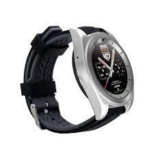 NO.1 - G6 Bluetooth 4.0 Inteligentní hodinky, neoprén, stříbrná