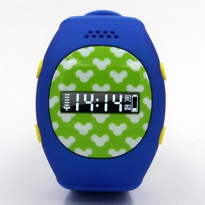 RWATCH R9, GPS SOS hodinky s telefonem, tmavě modrá