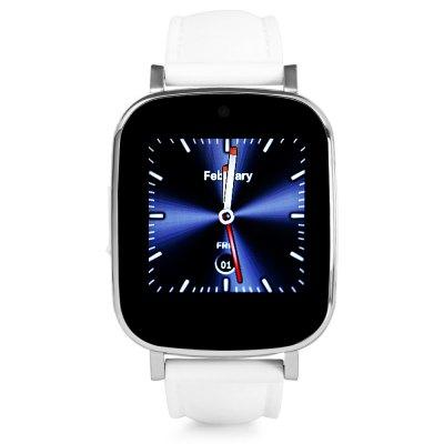 """JDA Z9 1.54"""" HD, chytré hodinky s telefonem v češtině, bílá"""
