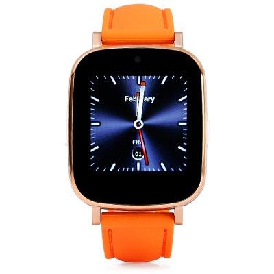 """JDA Z9 1.54"""" HD, chytré hodinky s telefonem v češtině, oranžová"""