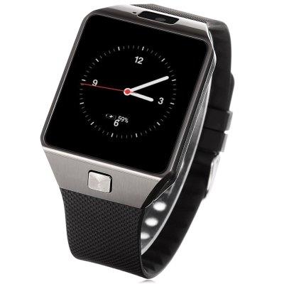 Peison QW09 CZ/SK, Dual-core hodinky s telefonem v češtině a slovenštině, WIFI, černo-stříbrná