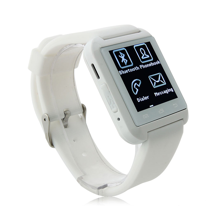 U Phone Watch U8 s telefonem SIM kartou, bílá