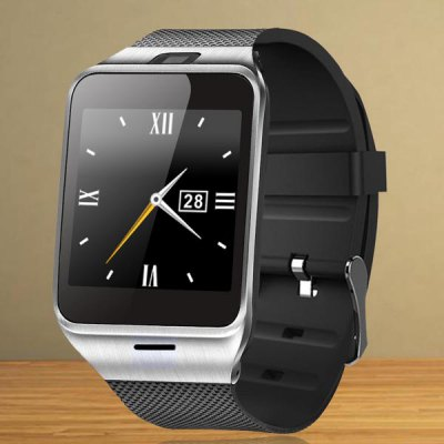 CYUC GV18 SIM Inteligentní Watch Phone černá