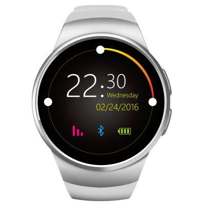 IP67 Smart Watch KW18 stříbrná