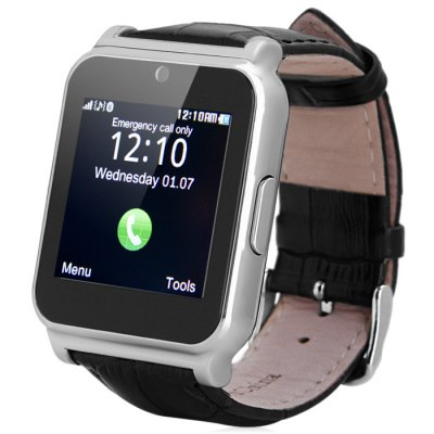 Creazydog Creazydog W90 Smart Watch Phone, černo-stříbrná