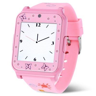 Creazydog W90 Smart Watch Phone, dětské , pink