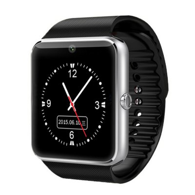 KingWear Smart Watch telefon GT08 stříbrná