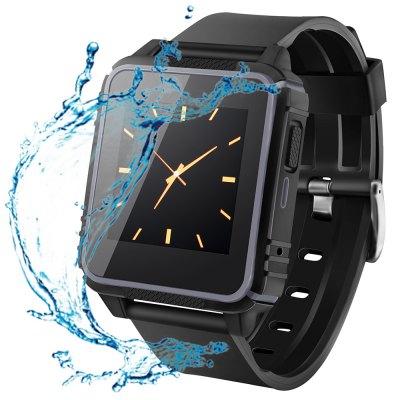 SOCOOLE W08 Plavecké a nárazuvzdorné hodinky s telefonem, černá