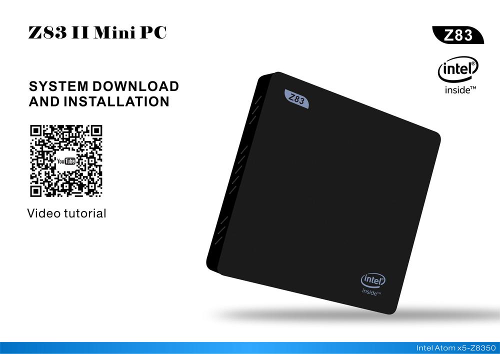 Generic Z83IIW10 Mini TV-box-PC Windows 10 64bit