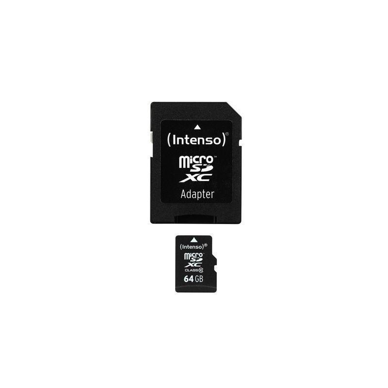 Intenso Vysokorychlostní Intenso micro SDXC karta 64GB class 10