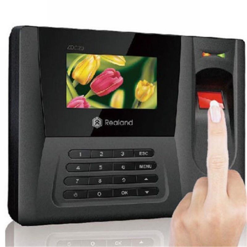"""Realand Realand ZDC20 2.8 """" biometrická docházková čtečka otisků prstů"""