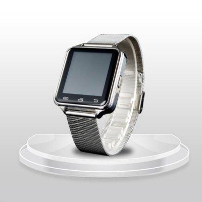 HTC, D80 luxusní multifunkční Inteligentní Bluetooth hodinky stříbrná