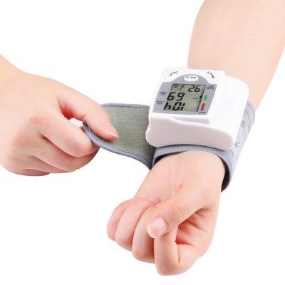 Gustala Gustala Health Care přenosný digitální automatický monitor krevního tlaku,bílá