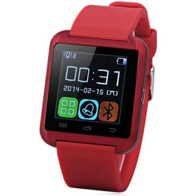 U Watch U8 červená