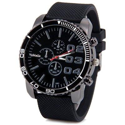 Womage Cool pánské hodinky Quartz černá