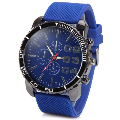 Womage Cool pánské hodinky Quartz modrá