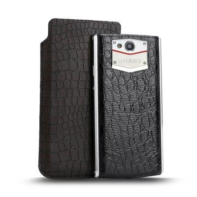Luxusní UHANS U100 kožené pouzdro Crocodile
