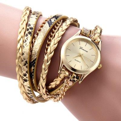 Geneva Quartz hodinky dámské zlatá