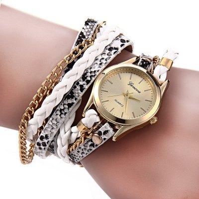 Geneva Quartz hodinky dámské bílá