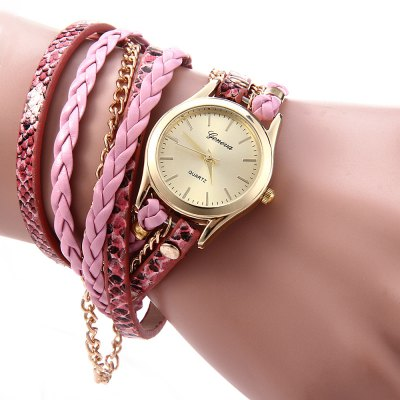 Geneva Quartz hodinky dámské pink