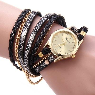 Geneva Quartz hodinky dámské černá