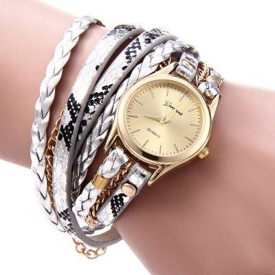 Geneva Quartz hodinky dámské stříbrná