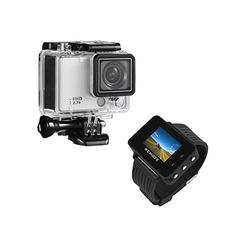 LC Prime® 4K sportovní kamera SJ9000 WIFI, hodinky dálkové ovládání modrá