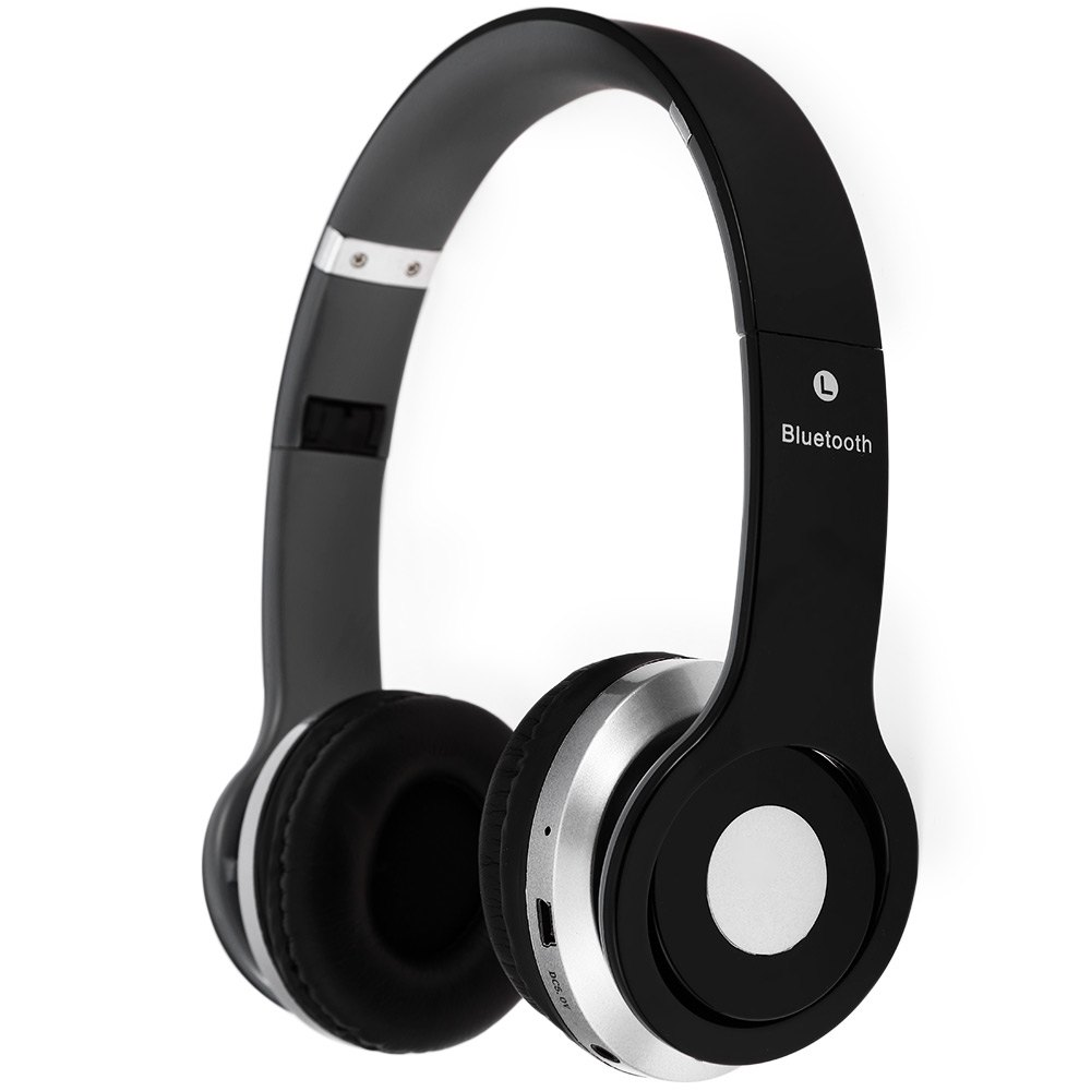 S450 YeallStock handsfree sluchátka Bluetooth+jack 3,5 černá
