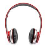 S450 YeallStock handsfree sluchátka Bluetooth+jack 3,5 červená