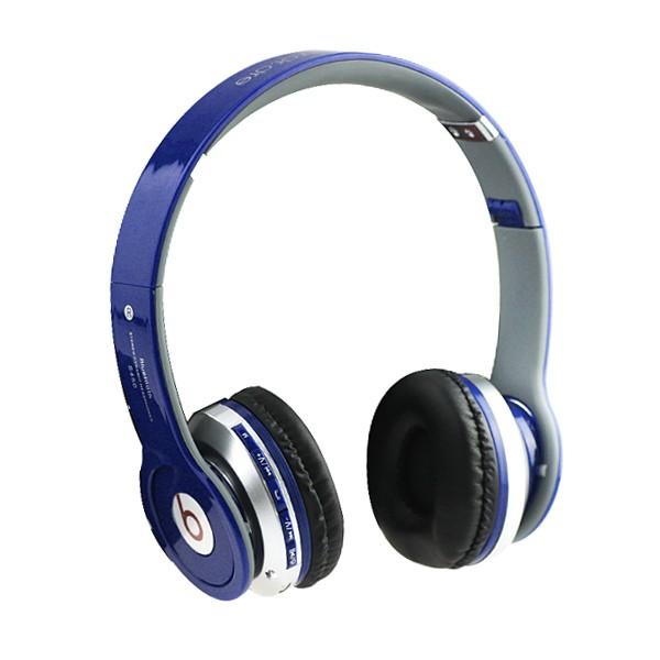 S450 YeallStock handsfree sluchátka Bluetooth+jack 3,5 modrá