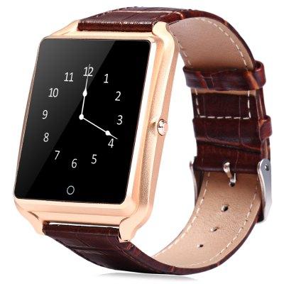 Bluboo U watch Inteligentní hodinky zlatá