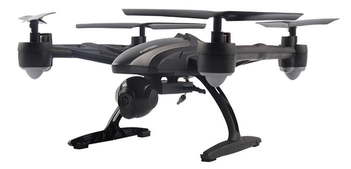JXD, 509W GYRO dron WIFI černá