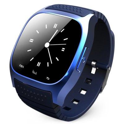 RWATCH RWATCH M26 LED chytré hodinky Bluetooth modrá