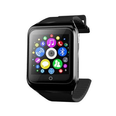 RWATCH R10, chytré hodinky s telefonem a kompasem černé