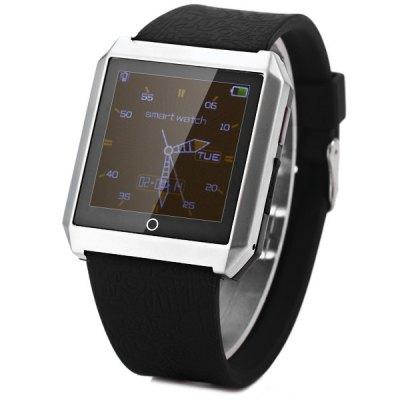 RWATCH R6 smart hodinky s kompasem stříbrná