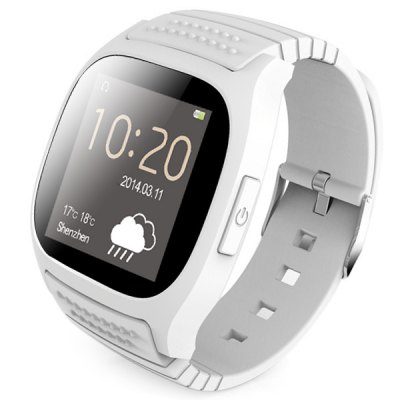 RWATCH M26 LED chytré hodinky Bluetooth bílé