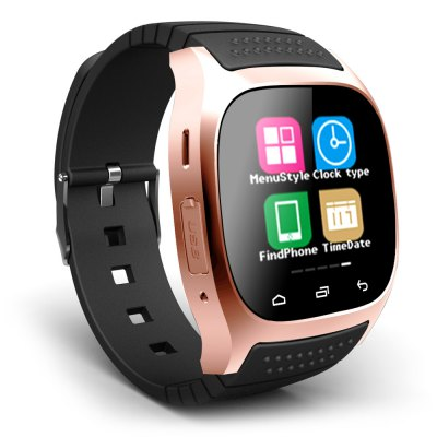 RWATCH M26 LED chytré hodinky Bluetooth gold