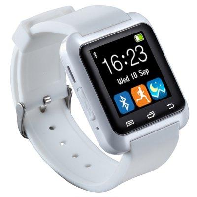 uWATCH U80 Inteligentní hodinky s Bluetooth částečně v češtině bílá
