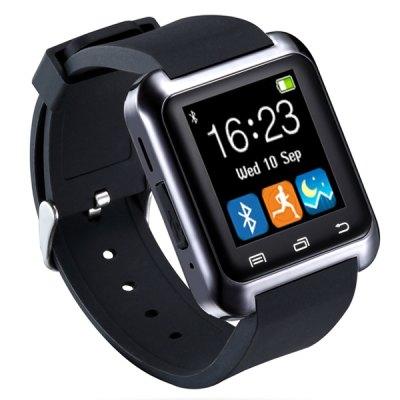 uWATCH U80 Inteligentní hodinky s Bluetooth částečně v češtině černá