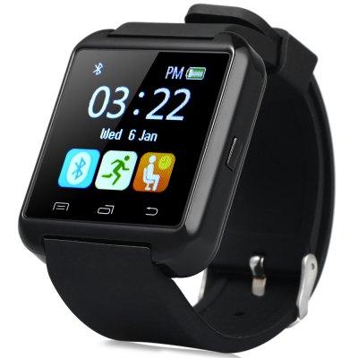 U8S Smart Watch outdorové hodinky černé