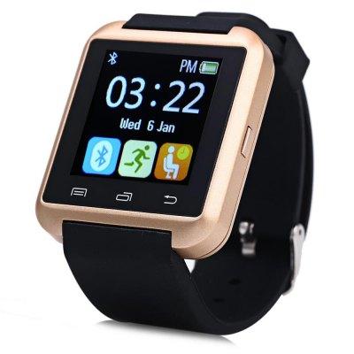 U8S Smart Watch outdorové hodinky zlaté