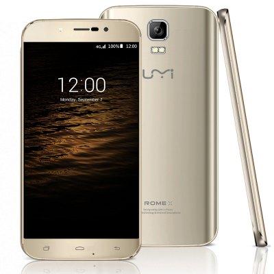 UMI ROME X smart telefon - CHAMPAGNE