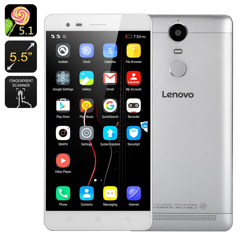Lenovo K5 Note bílý