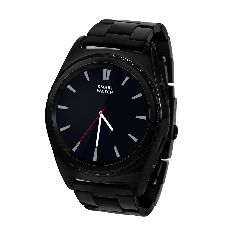 NO.1 NO.1 G4 Smart Watch ,ocelové, černá