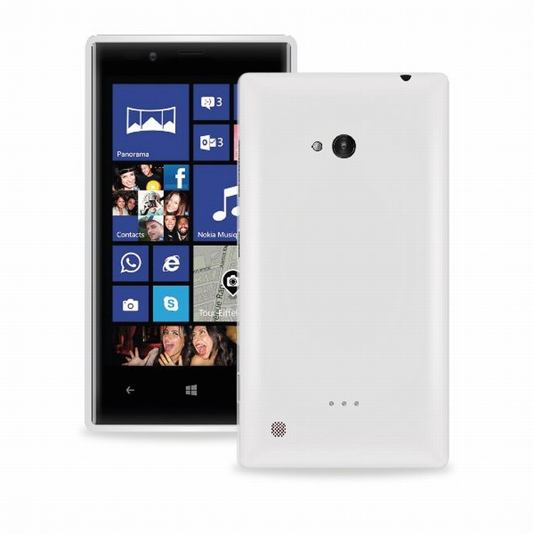 PURO Puro silikonový kryt pro Nokia Lumia 720, transparentní