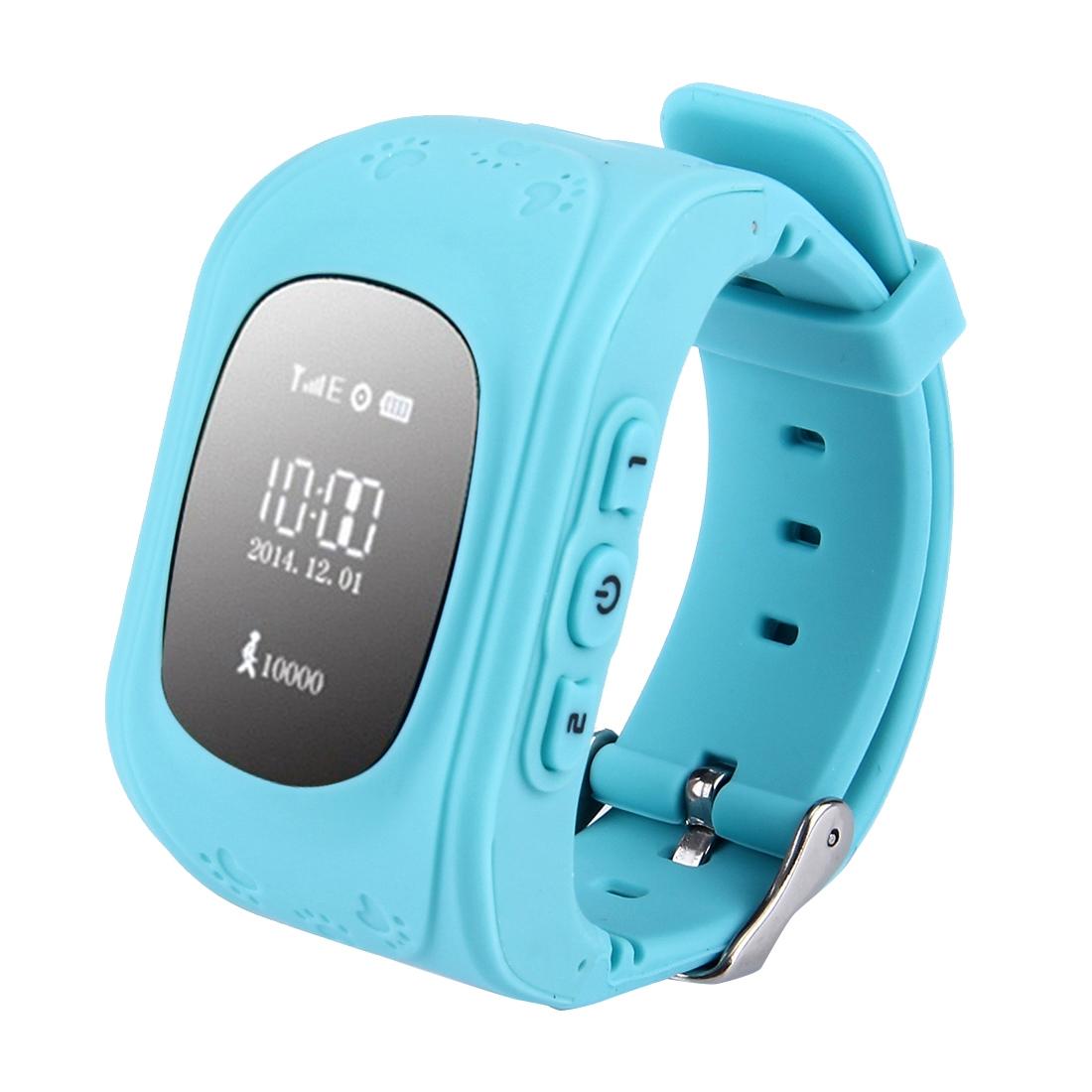 Q50 Q50 Dětské GPS hodinky modrá