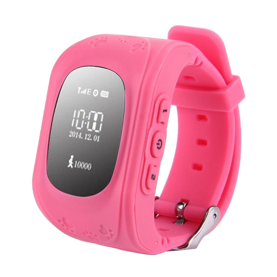 Q50 Q50 Dětské GPS hodinky růžová