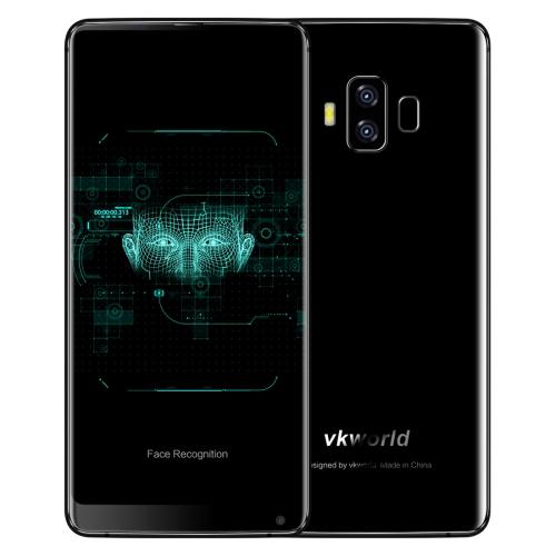 VKWORLD VKworld S8, 4GB+64GB, funkce rozpoznávání obličejů, černá