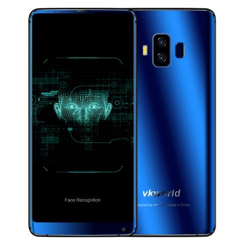 VKWORLD VKworld S8, 4GB+64GB, funkce rozpoznávání obličejů, modrá