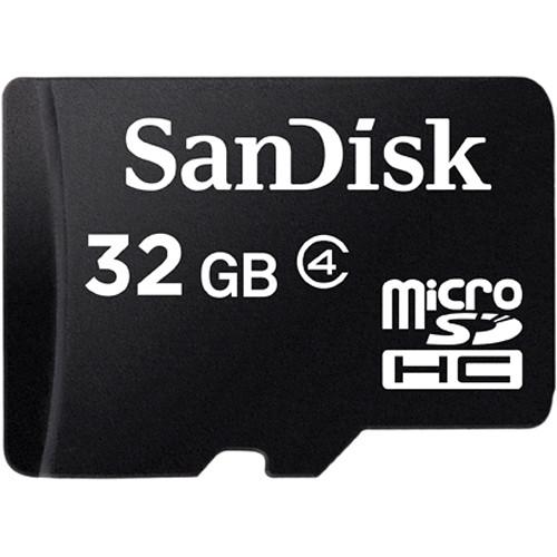 SanDisk microSDHC karta s adaptérem